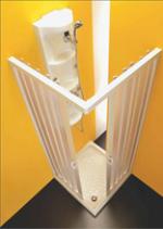 Сантехника Forte Шторка Kappa BP103 с угловым открыванием