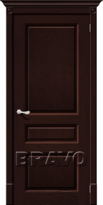 Двери Межкомнатные Леонардо Т-19 (Венге) ПГ