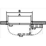 Двери Дверная фурнитура Система TWICE LEFT 60