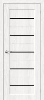 Двери Межкомнатные Moda-22 Black Line White Dreamline
