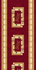 Ковролин Ковровые дорожки Da Vinci 5263 RED