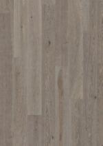 Паркетная доска Karelia Дуб Стоунвош Состаренный Айвори 188 мм