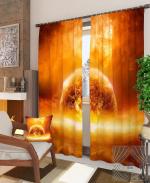 Товары для дома Домашний текстиль Горящая планета 900295