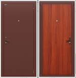 Двери Входные Билд Антик Медь/М-11 (Итальянский Орех)