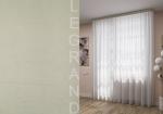 Товары для дома Домашний текстиль Тюль-вуаль с утяжелителем белый