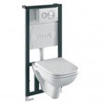 Сантехника Vitra Комплект подвесного унитаза 3 в 1 Vitra S20