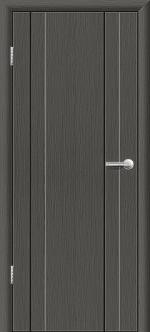 Двери Межкомнатные Гранд-М  глухая Серый дуб