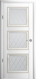 Двери Межкомнатные Версаль-3 белый мателюкс галерея