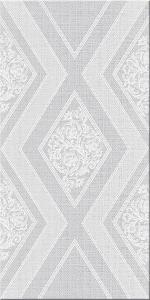 Керамическая плитка Azori Декор Illusio Gray Geometry