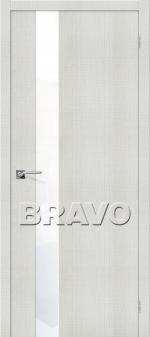 Двери Межкомнатные Порта-51 Bianco Crosscut СТ-White Waltz