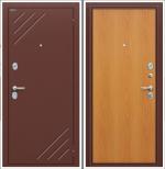 Двери Входные Стандарт Антик Медь/М-12 (Миланский Орех)