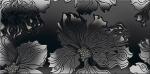 Керамическая плитка Azori Декор Антрацит цветы