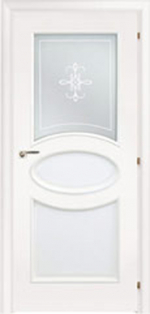 Двери Межкомнатные Saluto 621 R2O белый