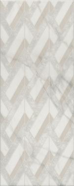 Керамическая плитка Kerama Marazzi Декор настенный Алькала белый MLD\A97\7198