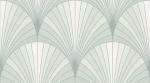 Керамическая плитка Lasselsberger Ceramics Настенная плитка Эвентир 1045-0243 Зеленая