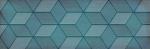 Керамическая плитка Lasselsberger Ceramics Декор Парижанка Гексагон бирюзовый 1664-0185