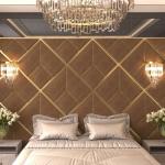 Стеновые панели 3D панели Avrora Bronze
