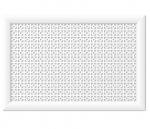Стеновые панели Перфорированные Дамаско белый V545677