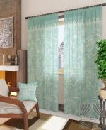 Товары для дома Домашний текстиль Вольтер-К (бирюза) 940120