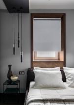 Товары для дома Домашний текстиль Светоотражающие миниролло Эскар blackout серый