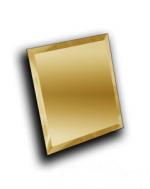 Керамическая плитка ДСТ Плитка зеркальная квадратная КЗЗ1-02