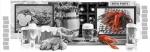 Стеновые панели Кухонные фартуки Ретро: Пивной рай