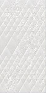 Керамическая плитка Azori Плитка настенная Illusio Bianco