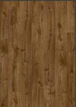 Плитка ПВХ Quick Step Дуб осенний коричневый PUCL40090