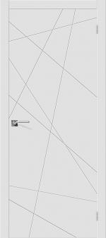 Двери Межкомнатные Скинни-5 Whitey
