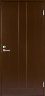 Двери Входные B0010 Темно-коричневая