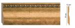 Плинтус Decomaster Цветной напольный плинтус Decomaster 153-58