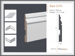 Строительные товары Лепной декор Плинтус Base 5270