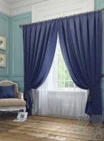 Товары для дома Домашний текстиль Элисс (темно-синий) 950128