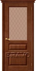 Двери Межкомнатные М5 Т-06 (Темный Лак) ПО СТ-Кристалл