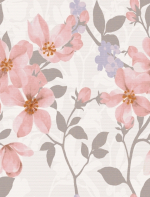Керамическая плитка Lasselsberger Ceramics Натали Флауэр 1034-0172 розовая 25х33