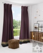 Товары для дома Домашний текстиль Дарла Винный 927021