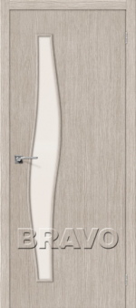 Двери Межкомнатные Мастер-8 3D Cappuccino