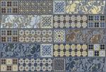 Керамическая плитка Azori Декор Индиго Эйша