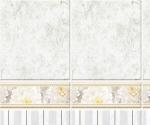 Стеновые панели ПВХ Элеганс серый фон