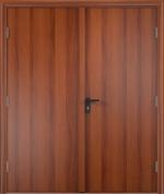 Двери Входные ДПГ двустворчатое финиш-пленка