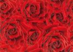 Керамическая плитка Березакерамика (Belani) Декор Престиж роза красный