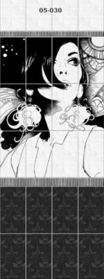 Стеновые панели ПВХ Париж 05-030