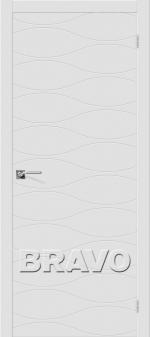 Двери Межкомнатные Граффити-3 К-33 (Белый) ПГ