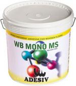 Паркетная химия Adesiv Паркетный клей WB MONO MS однокомпонентный