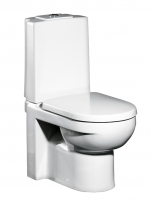 Сантехника Gustavsberg Унитаз 4300 ARTic со встроенным горизонтальным выпуском GB114300301737