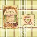 Стеновые панели ПВХ Кафе Зеленое 311-3