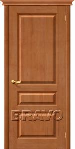 Двери Межкомнатные М5 Т-05 (Светлый Лак) ПГ
