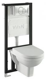 Сантехника Vitra Комплект подвесного унитаза 3 в 1 Vitra Form 300 9812B003-7203