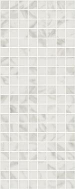 Керамическая плитка Kerama Marazzi Декор настенный Алькала белый мозаичный MM7203