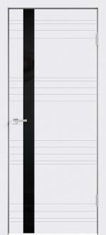 Двери Межкомнатные Scandi N Z1 лакобель черное